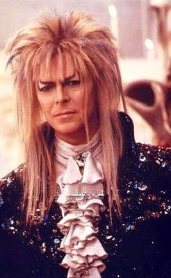 "Blonde rock star #1: David Bowie is ""Jareth the Goblin King"" in the fantasy classic ""Labyrinth"", screenign Sunday at the Scotiabank Theatre Cinemas, as part of the inaugural Great Digital Film Festival."